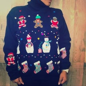 Vintage 90's – ugly Christmas sweater sz M